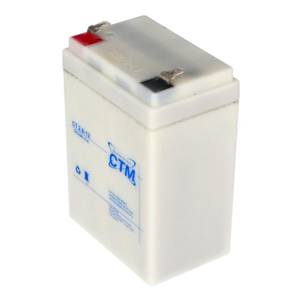 CTM 2.6-12 Câble de batterie MP2,2-12D, MP2.2-12D, RLl1226, 6FM2.6 adapté à de nombreuses applications