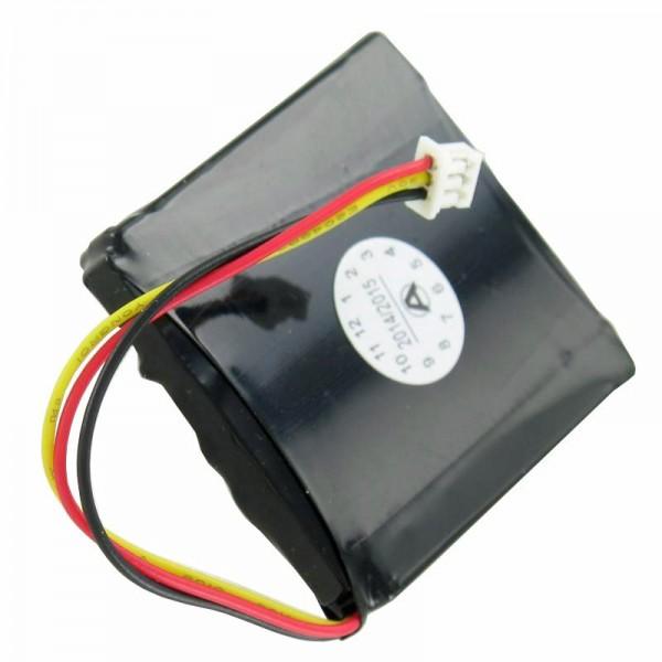 Batterie pour TOMTOM 1EX00, START2, START, EASY, 4EX0.001.11