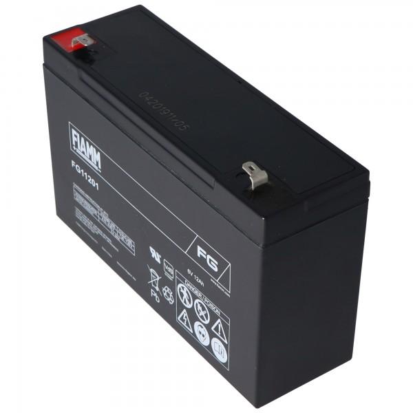 Fiamm FG11201 batterie au plomb 6 volts 12Ah