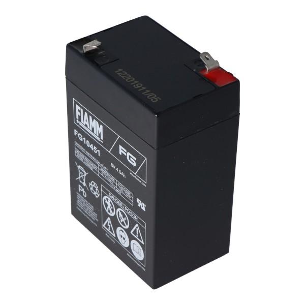Batterie 6 Volts pour véhicules Peg Perego 6 Volts 4500mAh sans câble