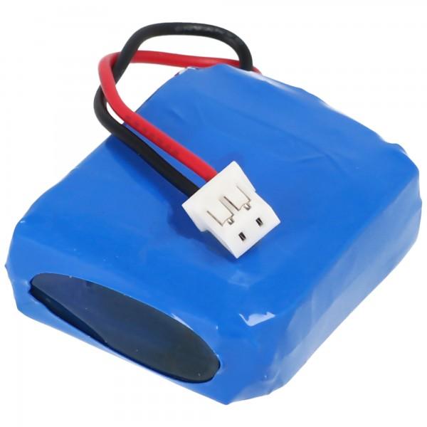 Batterie adaptée au récepteur Dogtra 1900S battery 1902S, BP74RS 300mAh 2.22Wh