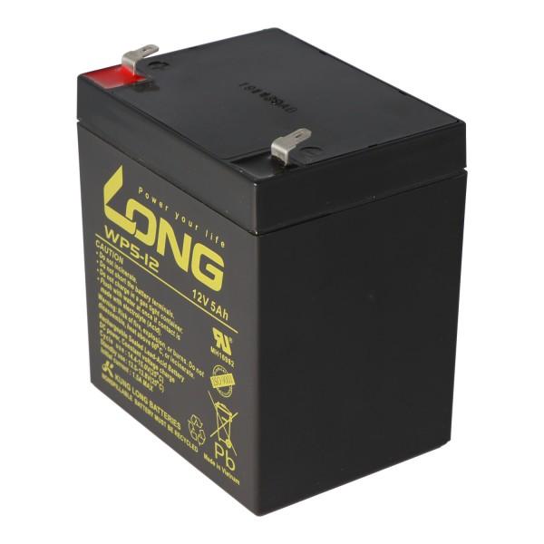 Kung Long WP5-12 batterie au plomb 12 Volt 5Ah par exemple, convient pour le pack de batterie APCRBC140 de APC, 16 pièces sont nécessaires