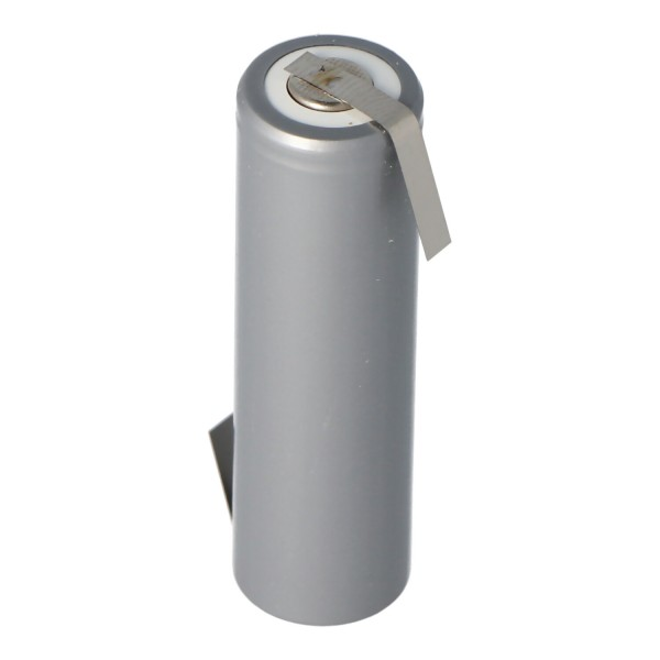 Cellule AA AccuCell HHR2200 Mignon avec languette à souder en forme de Z 2200mAh