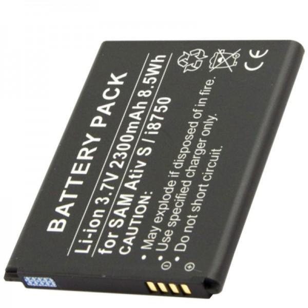 Batterie pour Samsung GT-I8370, GT-I8750, EB-L1M1NLA, EB-L1M1NLU de AccuCell