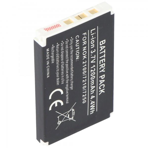 Batterie AccuCell pour Nokia 6610, BLD-3, 1000mAh