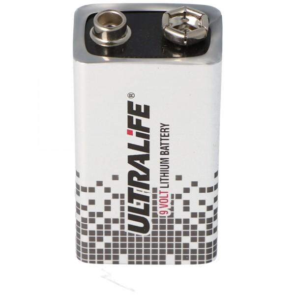 Batterie de remplacement adaptée au détecteur de fumée sans fil ABUS FU2993 Secvest et à la batterie de détecteur de fumée domestique