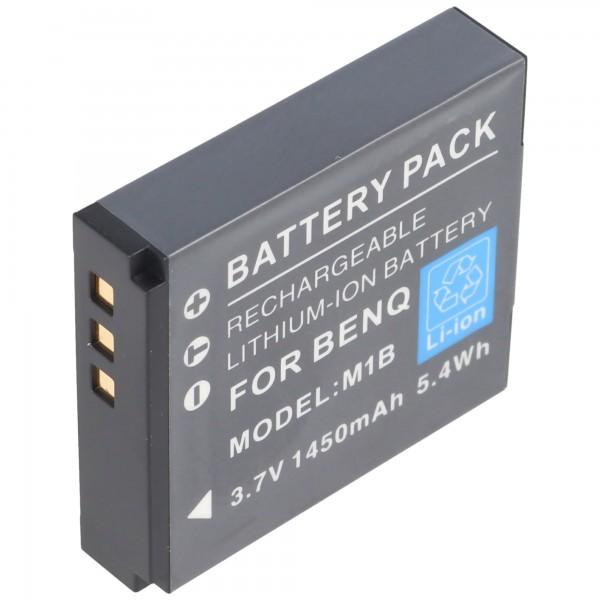 Praktica DVC 10.1 HDMI batterie de AccuCell avec 3,7 Volt, 1250mAh