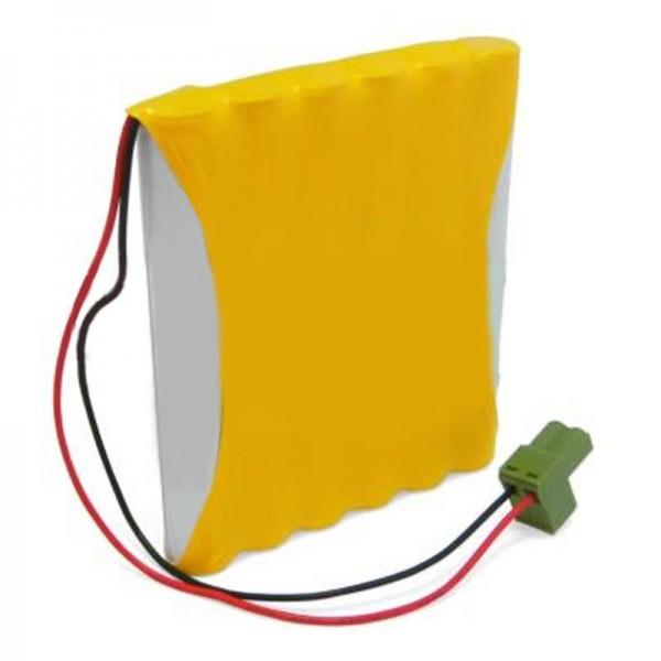 Batterie de remplacement pour la porte automatique Gezi 14.4V NiCD Pack de batteries