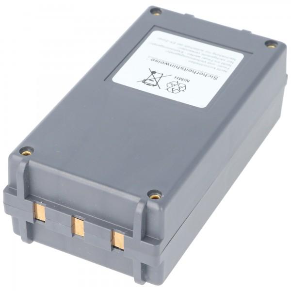 Batterie d'origine adaptable sur Cattron Theimeg BT923-00044 12 Volts 1500mAh