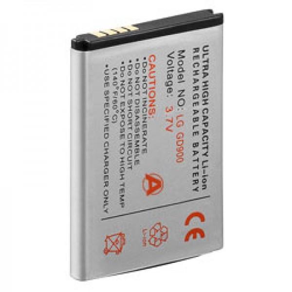 Batterie AccuCell pour LG BL40 newchocolate, GD900, SBPL0099