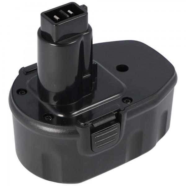 Batterie adaptée pour Dewalt DW9092, 9091, 9038, 14.4V NiMH 1.5Ah