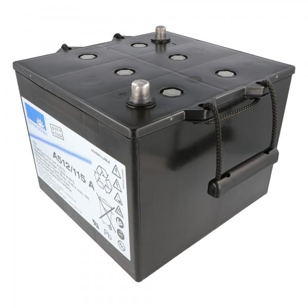 Batterie au plomb Sonnenschein Dryfit A512 / 115A