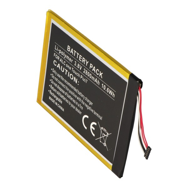 Batterie pour Alcatel One Touch Pixi 7, TLp028AD 3.8 Volt 2800mAh