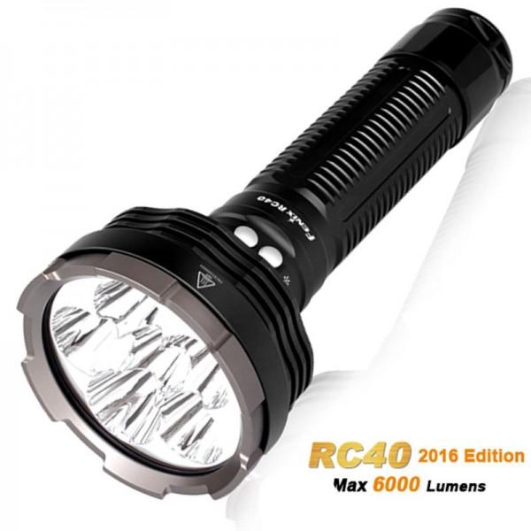 Lampe de poche Fenix RC40 Cree XM-L2 U2 à 6000 lumens, rechargeable