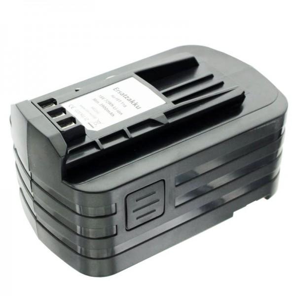 Batterie Imitation pour batterie Festo BPC18 498343, 499849 avec 4000mAh