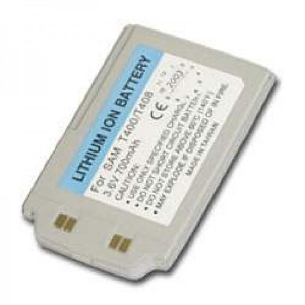 Batterie AccuCell pour Samsung SGH-T400, SGH-T408, 700mAh