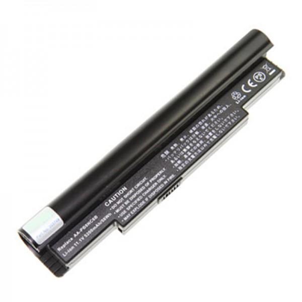 AccuCell Batterie pour Netbook Type AA-PB8NC6B 7200mAh Noir