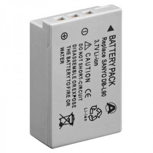 Batterie pour SANYO DB-L90, série VPC-SH1