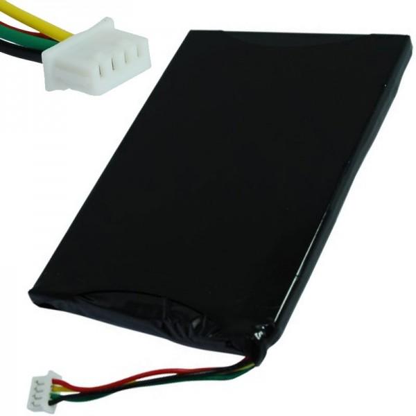 AccuCell batterie adapté pour Navigon 7210, 7310, BI-GC411-1K6KAY