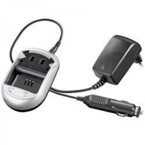 Chargeur rapide adaptable à KYOCERA BP-800S, BP-1000S