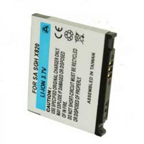 Batterie pour Samsung SGH-D830, SGH-E840, SGH-U600, SGH-X820