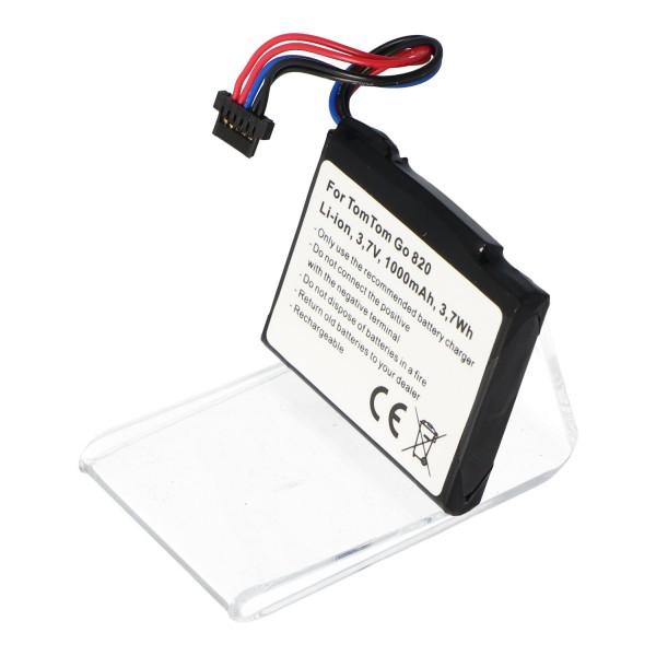 Batterie compatible avec TomTom G0 825, Go 820, Go Live 820, Go Live 825 Batterie AHL03711022, AHL03711023, VF6M