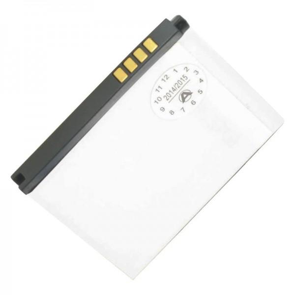 AccuCell batterie appropriée pour la batterie LG BL20, 700mAh