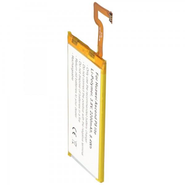 Batterie adaptée pour Huawei Ascend P8 Lite 3.8 Volt 2200mAh