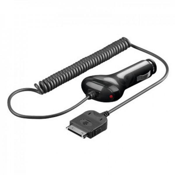 Chargeur de voiture 12V / 24V adapté pour Apple iPad noir