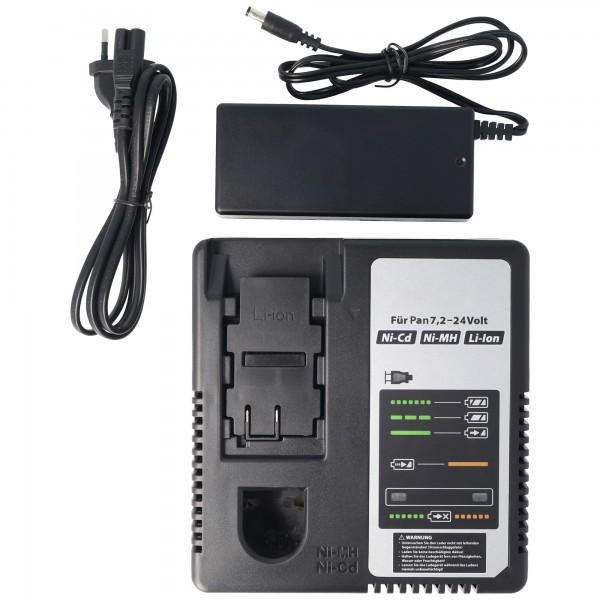 Chargeur universel pour Panasonic 7.2 à 24.0 volts