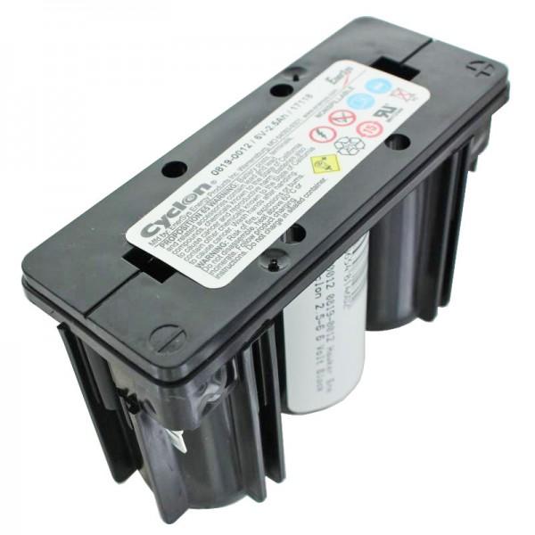 0819-0012 Batterie de bloc Hawker Energy Cyclon 2.5-6 6 volts 0819-1006 6V 2500mAh