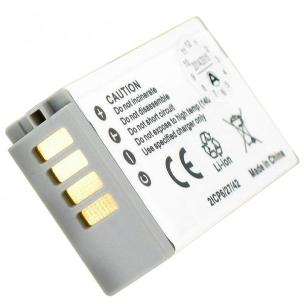 AccuCell batterie adaptée pour Nikon 1 J5 batterie rechargeable EN-EL24 batterie rechargeable
