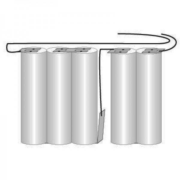 Batterie pour éclairage de secours, éclairage de secours GI 2teilig juice VNT CS avec câble