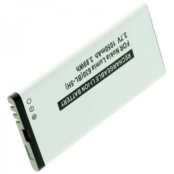 Batterie pour Nokia Lumia 630, Lumia 635, BL-5H avec 1050mAh