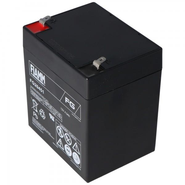 Fiamm FG20451 batterie rechargeable 4.5Ah batterie au plomb de 12 volts