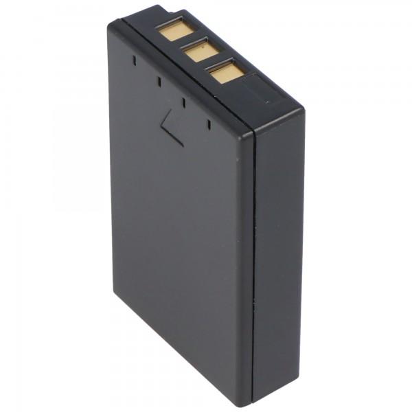 AccuCell batterie adaptéee pour Olympus BLS-1, E-400, E-410, 1150mAh