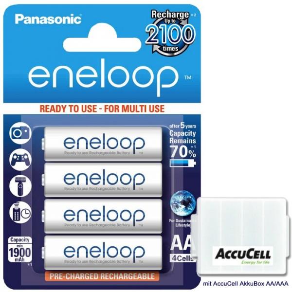 Panasonic Eneloop BK-3MCC Mignon AA, successeur du Sanyo Eneloop HR-3UTGB