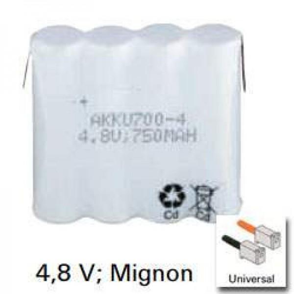 Batterie adaptée pour Philips TD4902, TD9260, TD9262