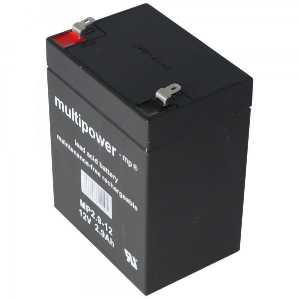 Fiamm FG20271 Batterie 2,7Ah