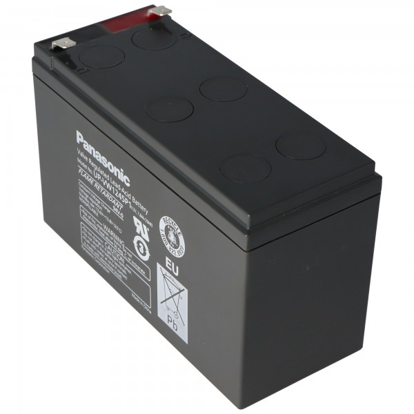 Batterie Panasonic UP-RW1245P1 PB 12Volt 7,8Ah, 9Ah, LC-R129P1, LC-R129CH1 (anciennement 9Ah, maintenant 7,8Ah)