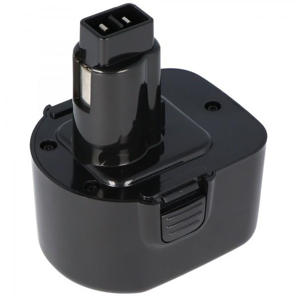 Batterie AccuCell pour Dewalt ELU EZWA 60, 12Volt / 2.0Ah NiMH