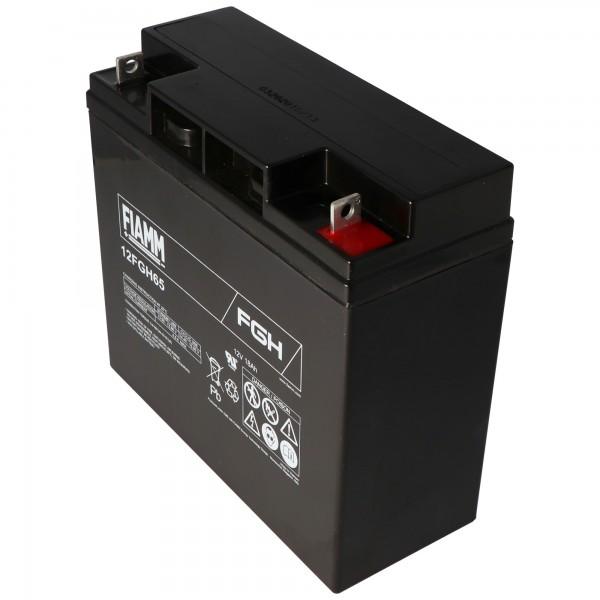 Fiamm 12FGH65 batterie FGH21803 batterie au plomb 12 volts 18Ah idéale comme batterie de démarrage