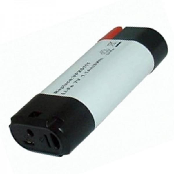 AccuCell batterie convient pour Black & Decker batterie VPX0111