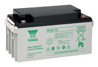 YUASA NP65-12 Batterie PB 12 Volt 65000mAh