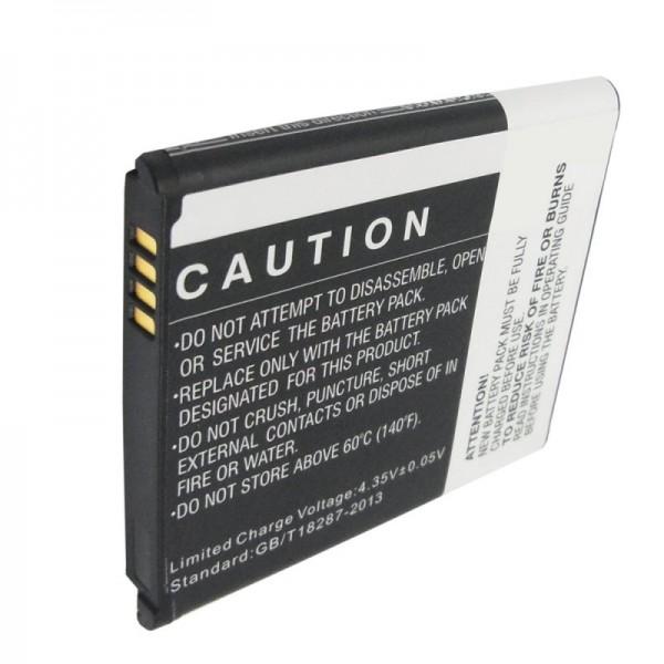 Batterie pour Samsung EB-BC115BBE batterie Galaxy S5 zoom, C1116, C1158