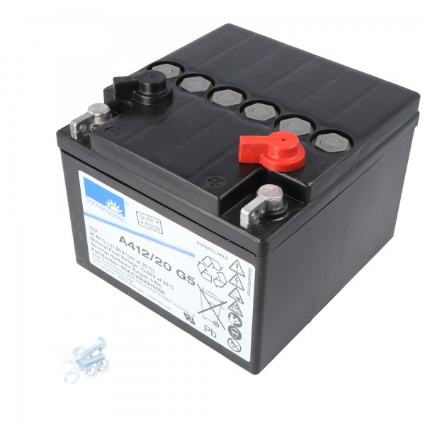 Sunshine Dryfit A412 / 20G5 Câble de batterie PB 12Volt 20Ah