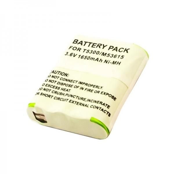 Batterie compatible pour Motorola HKNN4002A Talkabout FV500, T9500 3.6 Volt 1650mAh