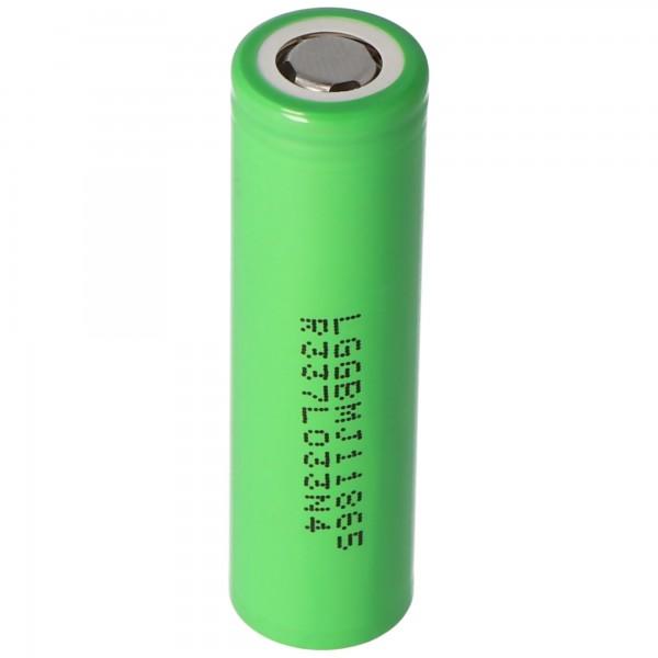 LG INR18650MJ1 - Batterie lithium-ion 3.6V - 3.7V 3500mAh