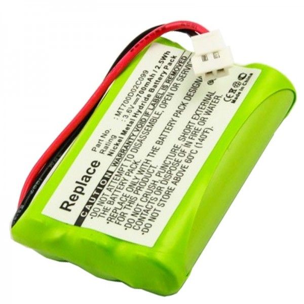 Batterie AccuCell adaptable sur PHILIPS CEPTF BABYFON, babyfone CEPT F
