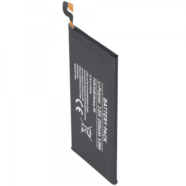 Batterie adaptée pour Samsung Galaxy S6 EB-BG920ABE batterie 2550mAh
